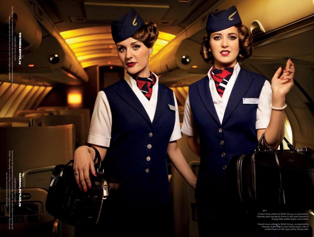 Alice Hawkins Shoots British Airways Flight Crew For The